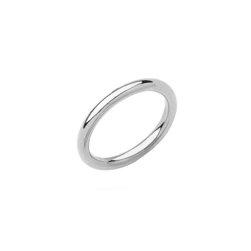 Alliance PONCE Fil Rond 2,5mm Or blanc
