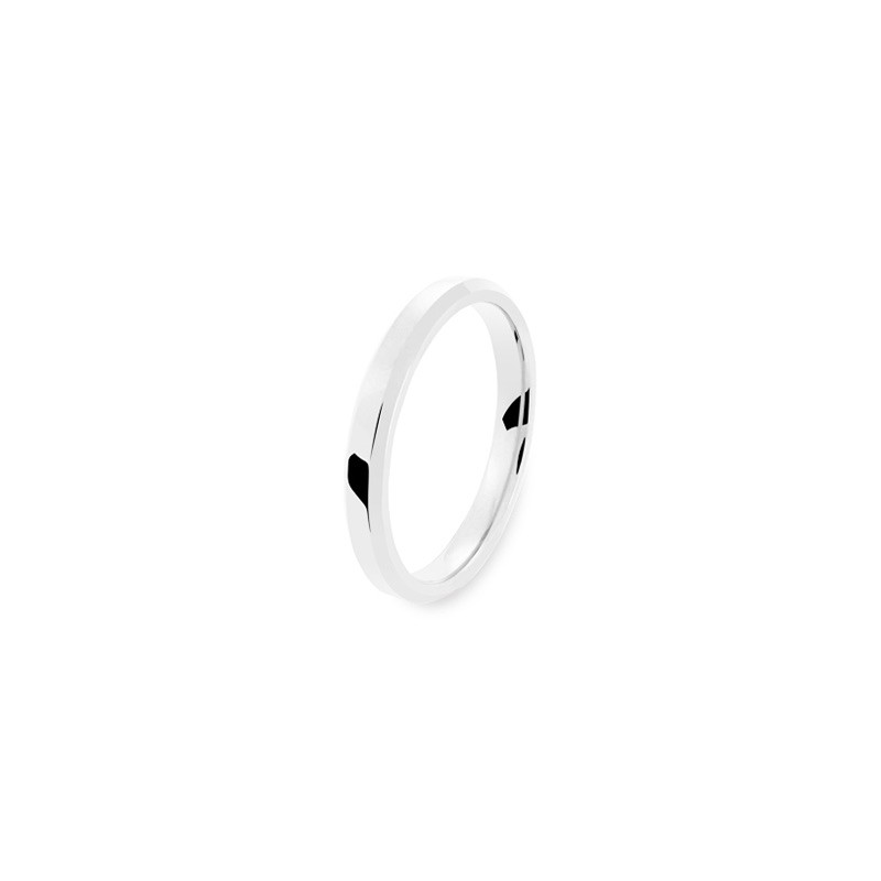 Alliance PONCE Eternel 3 mm Or blanc