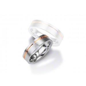 Alliance BREUNING Argent & Diamant 6 mm-1