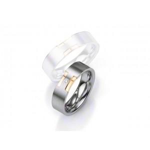 Alliance BREUNING Argent & Diamant 6 mm-2