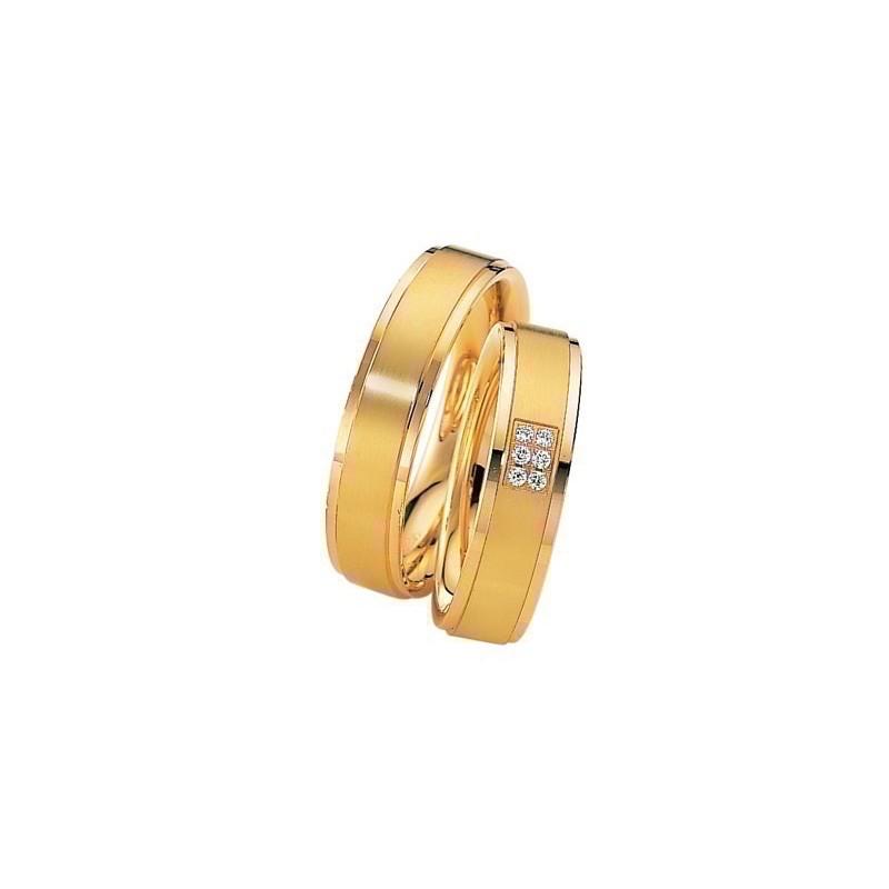 Alliance Saint MAURICE Eternity 5,5mm - OR Jaune - 6 diamants