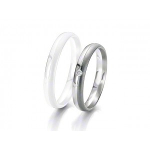 Alliance BREUNING BLACK & WHITE 3,5mm - OR Blanc & NOIR - 1 Diamant