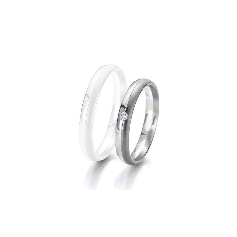 Alliance BREUNING BLACK & WHITE 3,5mm - OR Blanc & NOIR - 1 Diamant