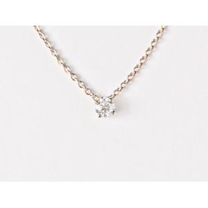 Pendentif Diamant 0,10 Carat G SI 4 griffes bélière invisible Or blanc