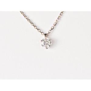 Pendentif Diamant 0,20 Carat G SI 3 griffes Or blanc