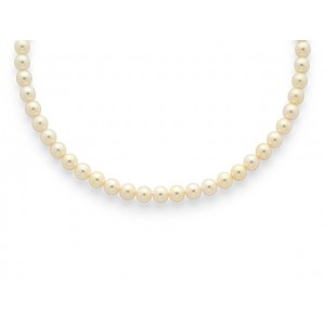 Collier Perles de culture Choker Akoya Japon 6,5-7 mm
