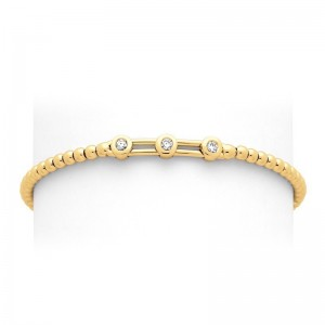Bracelet joaillerie Diamants 0,05 Carat H SI Or jaune