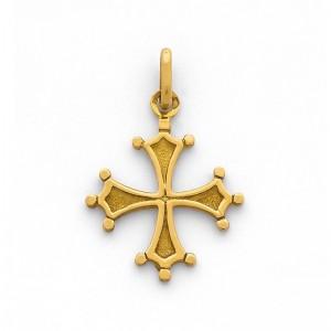 Croix Occitanne 19mm Or jaune