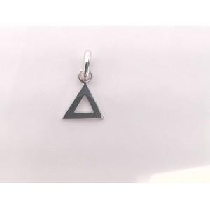 Pendentif symbolique Triangle Or jaune