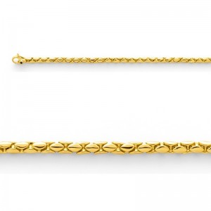 Bracelet mailles Cobra Or jaune