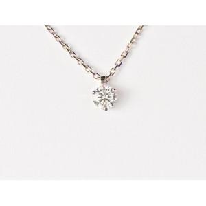 Pendentif Diamant 0,25 Carat G SI 3 griffes Or blanc