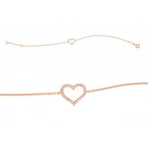 Bracelet joaillerie Diamants 0,08 Carat Or rose