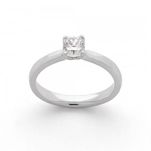 Solitaire diamant taille Lucére© 0,53 Carat E SI1