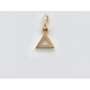 Pendentif symbolique Triangle Or jaune-1
