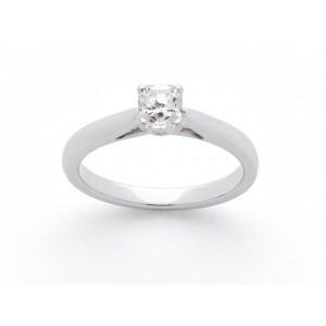 Solitaire diamant taille Lucére© 0,52 Carat D VVS14 griffes platine