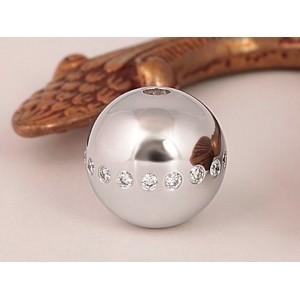 Fermoir interchangeable Diamants parsemés boule 14mm-1