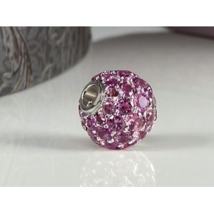Fermoir interchangeable Tourmalines boule 10mm