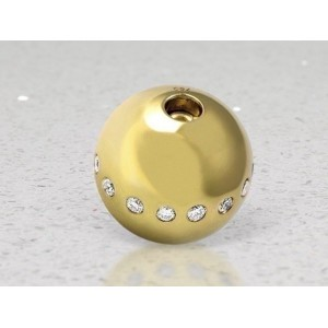 Fermoir interchangeable Diamants boule 14mm-2