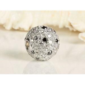 Fermoir Interchangeable Or et Diamants forme cœur