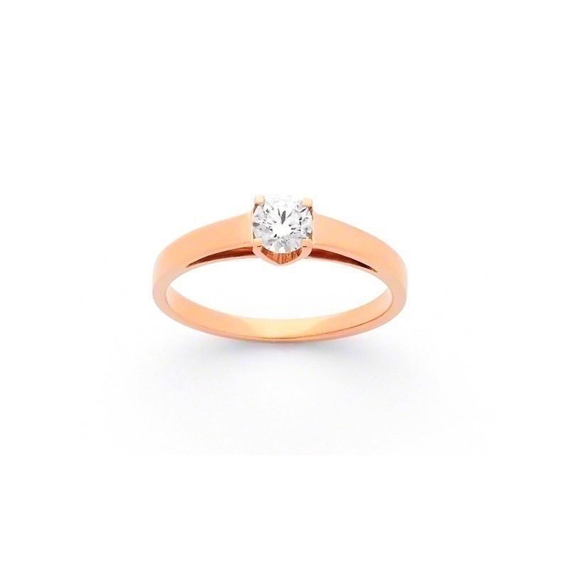 Solitaire Diamant 0,30 Carat E SI1 4 griffes