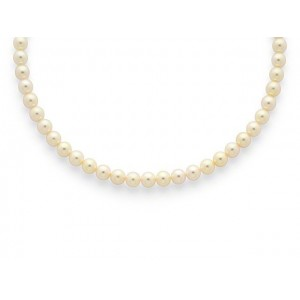Collier Perles de culture Choker Akoya Japon 7 -7,5mm-1