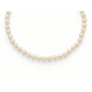 Collier Perles de culture Choker Akoya Japon 7,5-8 mm-2