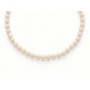 Collier Perles de culture Choker Akoya Japon 8 -8,5mm-1