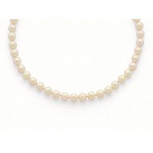 Collier Perles de culture Choker Akoya Japon 8,5-9 mm-1