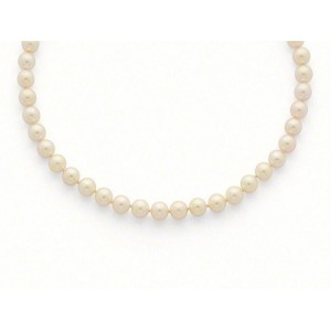 Collier Perles de culture Choker Akoya Japon 9 -9,5mm-4