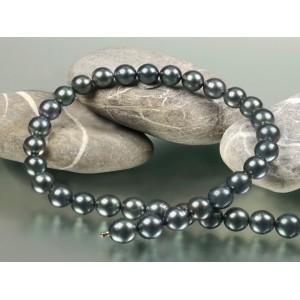 Collier Perles de Tahiti 9,5-10mm Choker