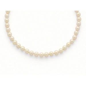 Collier Perles de culture Choker Akoya Japon 8,5-9 mm-3