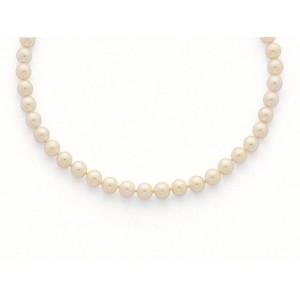 Collier Perles de culture Choker Akoya Japon 8 -8,5mm-5