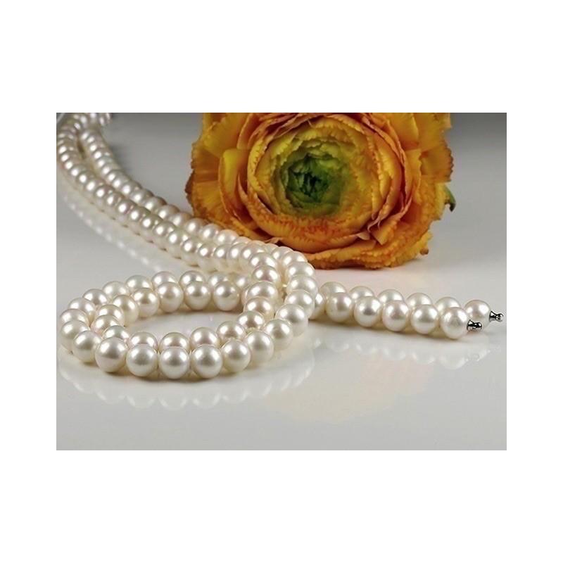 Collier Perles de culture Chocker eau douce 9-10 mm