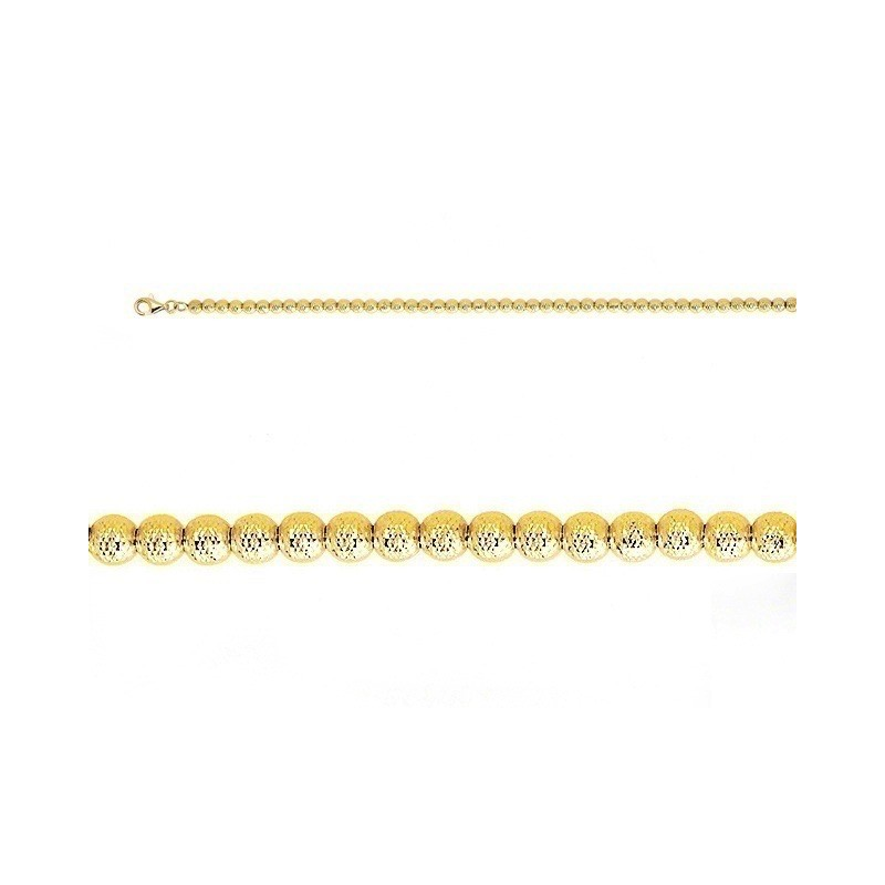 Bracelet boules Or jaune