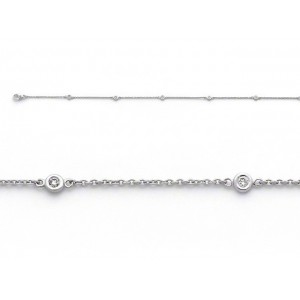 Bracelet joaillerie Diamants 0,06 Carat G SI Or blanc
