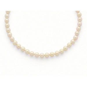 Collier Perles de culture Choker Akoya Japon 7,5-8 mm-3