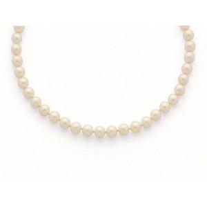 Collier Perles de culture Choker Akoya Japon 9,5-10 mm-1