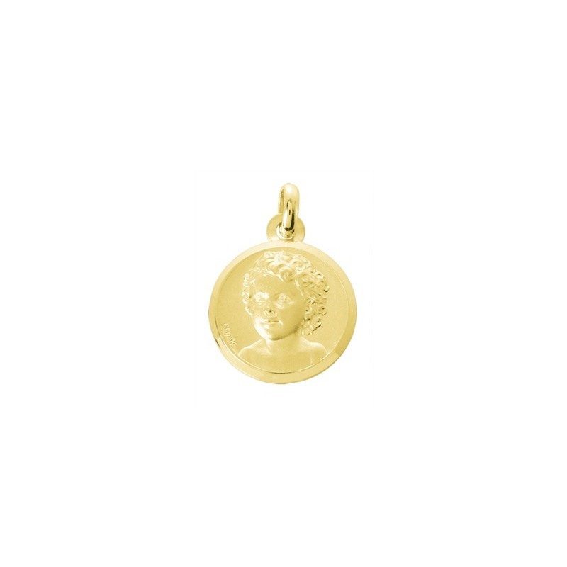 Médaille Chérubin 15mm Or jaune