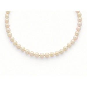 Collier Perles de culture Choker Akoya Japon 7,5-8 mm-5