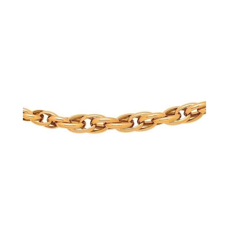 Chaine Torsade ou Corde 5-8mm Or jaune