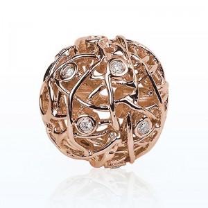 Fermoir interchangeable Nest Diamants 0,16 Carat G SI 14mm